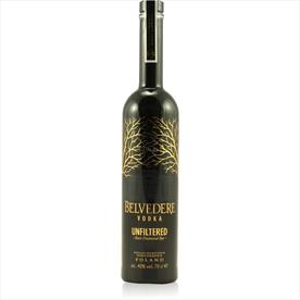 BELVEDERE UNFILTERED VODKA 70CL