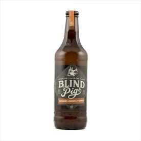 BLIND PIG WHISKY HONEY & APPLE 12 X 330ML