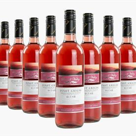 BLUEHILL ROSE 6 X 75CL