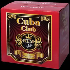 HOUSE WHITE RUM CUBA CLUB 70CL