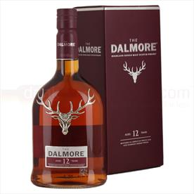 DALMORE 12YR OLD WHISKY