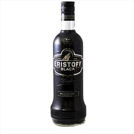 ERISTOFF VODKA BLACK 70CL