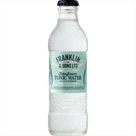 FRANKLIN CUCUMBER & ELDERFLOWER TONIC 24 X 200ML