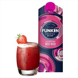 FUNKIN STRAWBERRY WOO WOO MIXER 6 X 1LTR