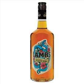 LAMBS SPICED RUM 70CL