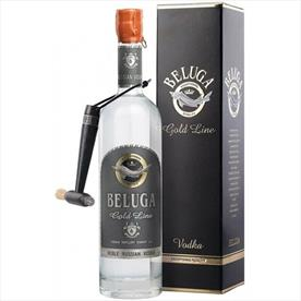 BELUGA GOLD LINE VODKA LEATHER 70CL
