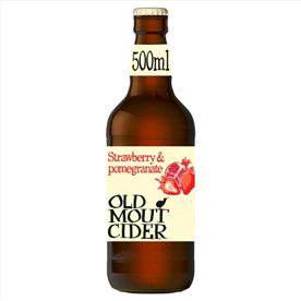 OLD MOUT POMEGRANATE & STRAWBERRY 12 X 500ML