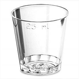 DISPOSABLE SHOT GLASSES 1000 X 25ML