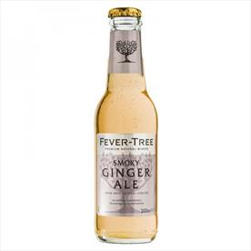 FEVER TREE SMOKEY GINGER ALE 24 X 200ML