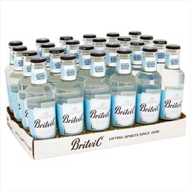 BRITVIC SODA WATER 24 X 200ML