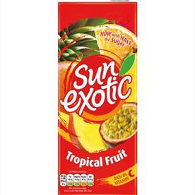 SUN EXOTIC TROPICAL 12 X 1LTR
