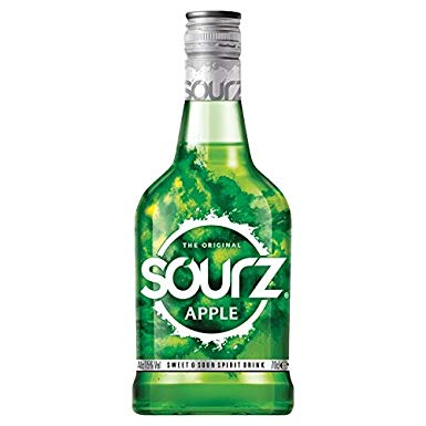 APPLE SOURZ 70CL