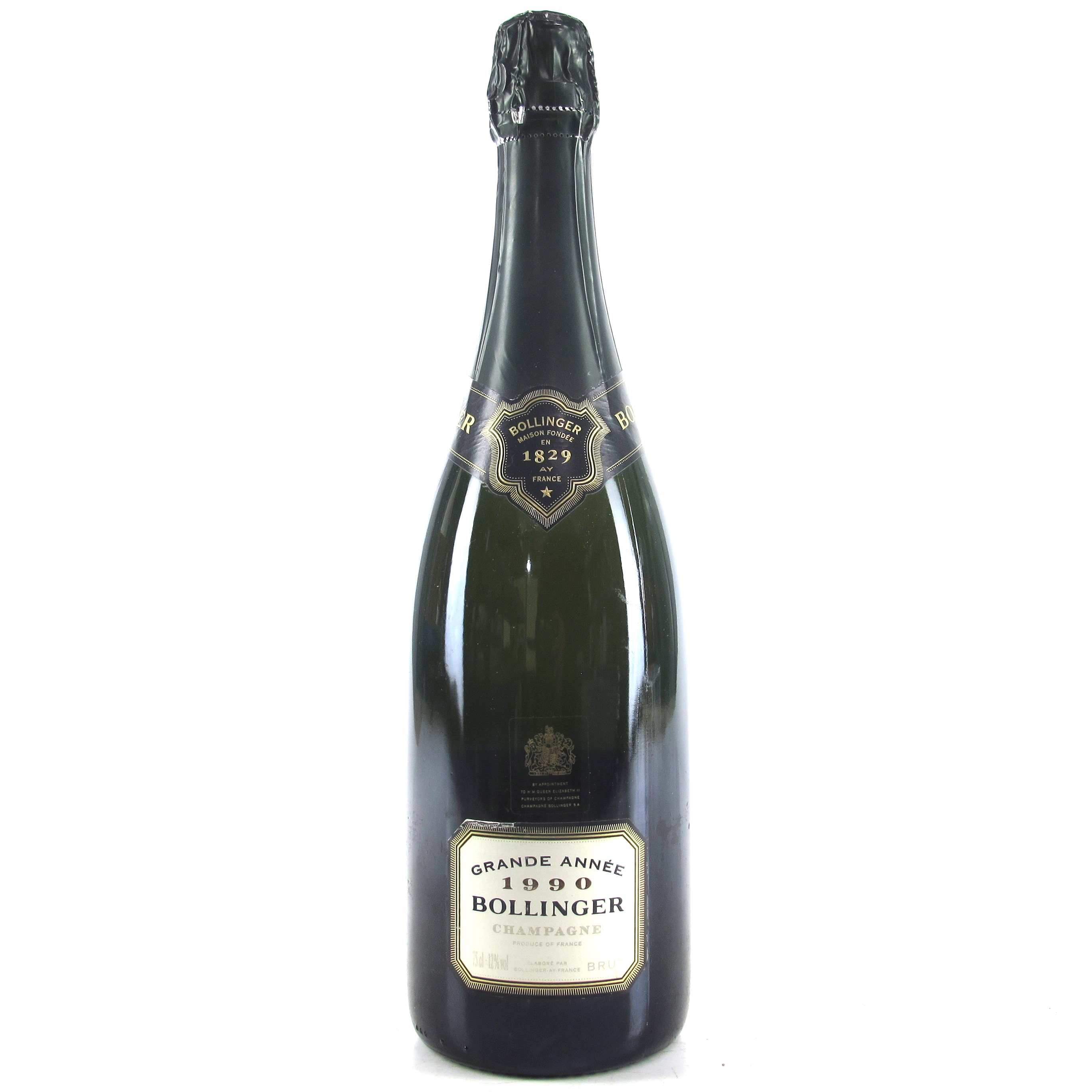 BOLLINGER GRAND ANEE 1990 CHAMPAGNE 75CL