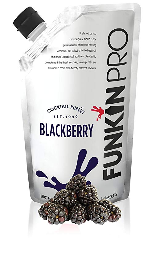FUNKIN BLACKBERRY PUREE 5 X 1KG
