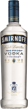 SMIRNOFF BLUE VODKA 70CL