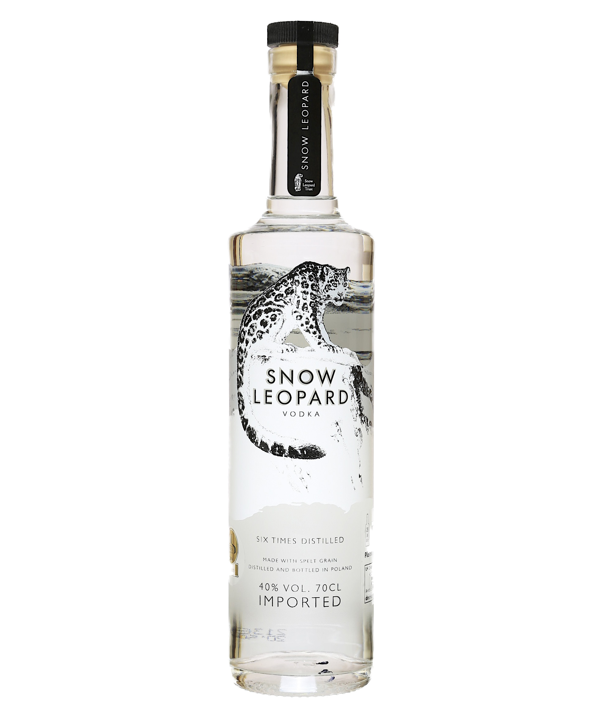 SNOW LEOPARD VODKA 70CL