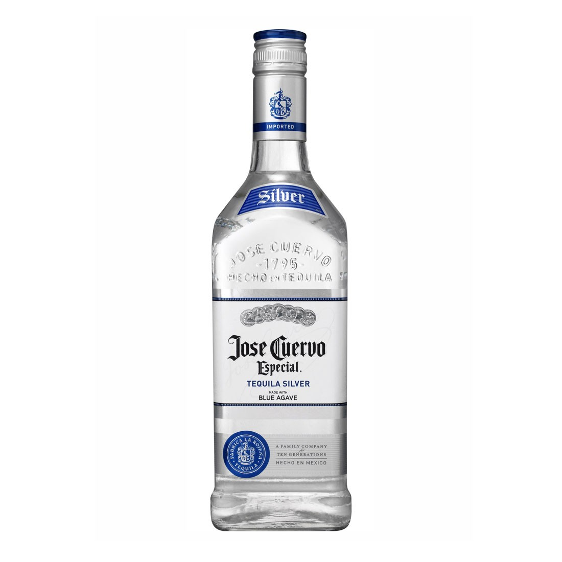 TEQUILA CUERZO SILVER 70CL