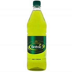 BRITVIC LIME CORDIAL 12 X 1LTR
