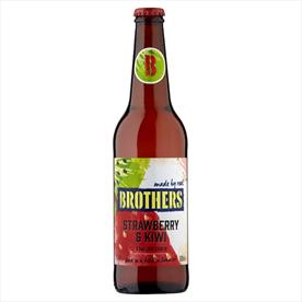 BROTHERS STRAWBERRY 12 X 500ML