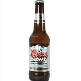 COORS LIGHT (NRB) 24 X 330ML