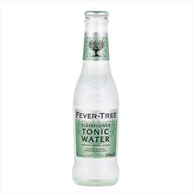 FEVER TREE ELDERFLOWER TONIC 24 X 200ML