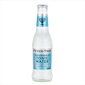 FEVER TREE MEDITERRANEAN TONIC WATER 24 X 200ML