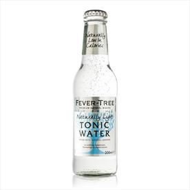 FEVER TREE TONIC WATER LIGHT 24 X 200ML