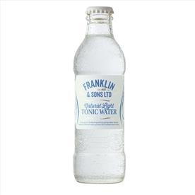 FRANKLIN NATURAL LIGHT TONIC 24 X 200ML