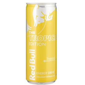 REDBULL TROPICAL CANS 12 X 275ML