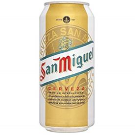 SAN MIGUEL CANS 24 X 500ML